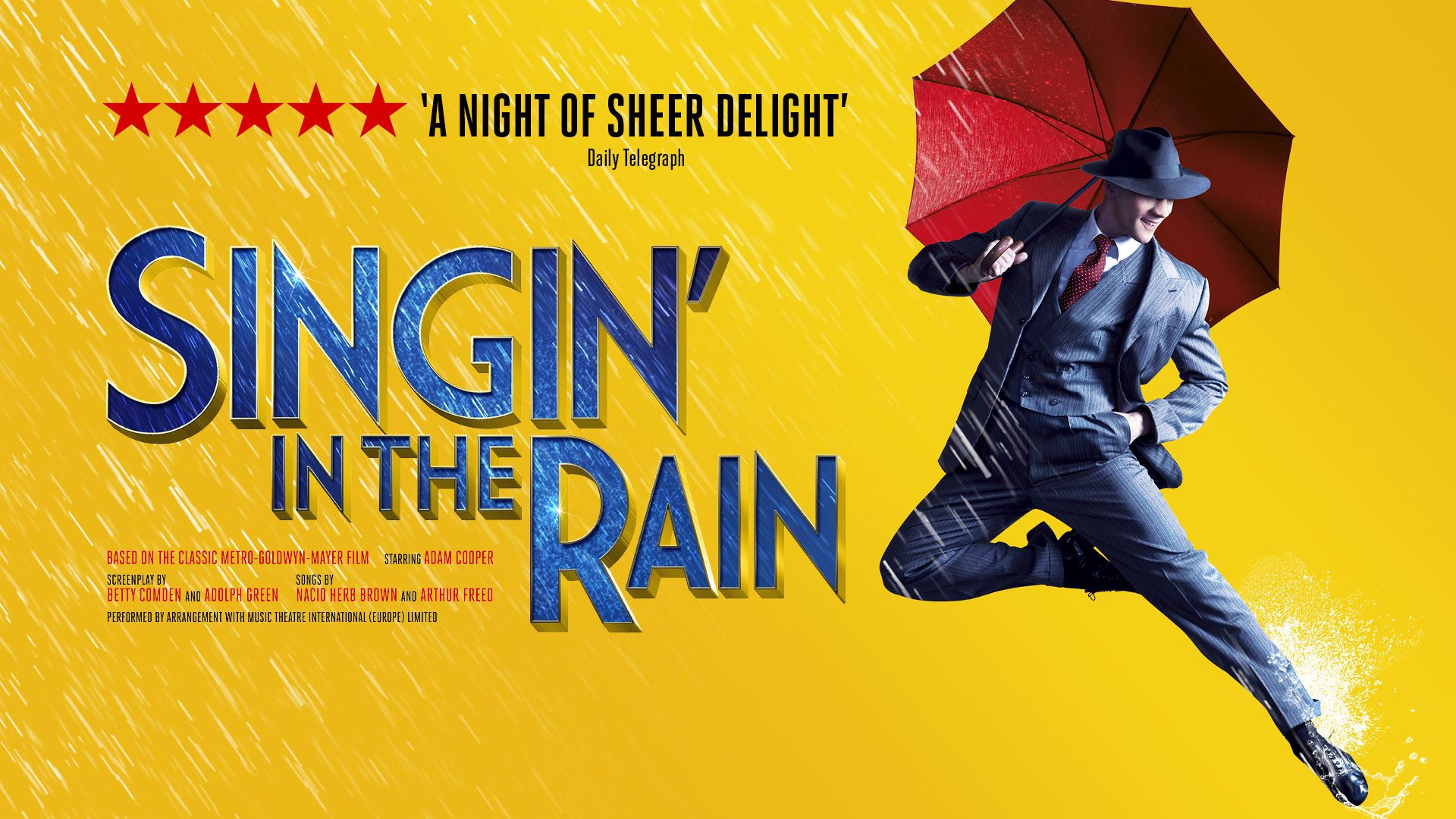 Singin In The Rain Michael Harrison Entertainment
